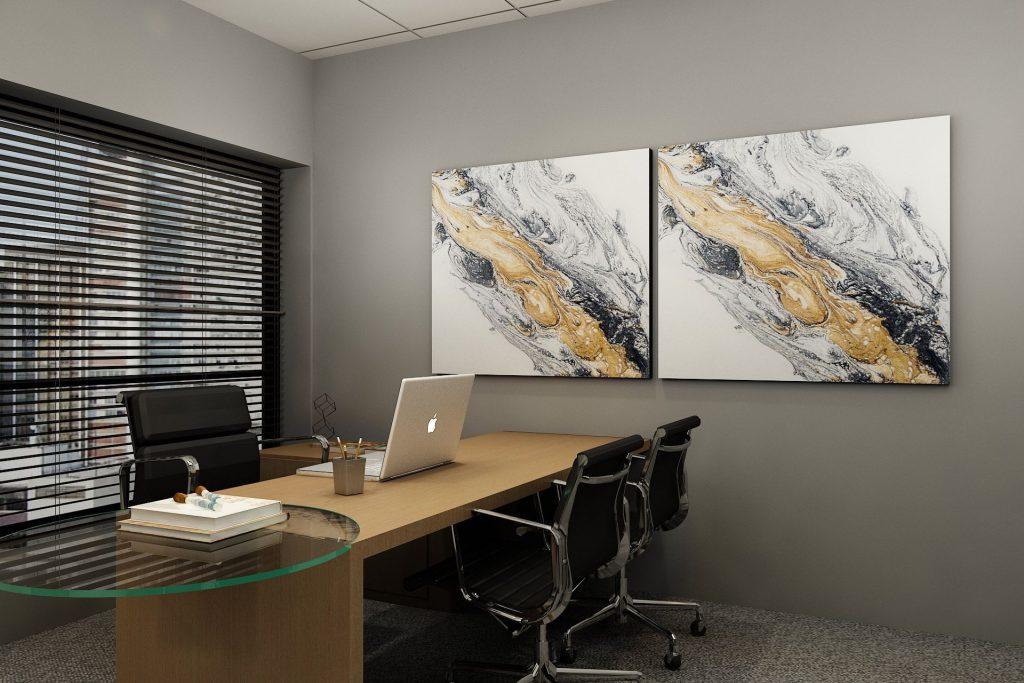 escritório de advocacia minimalista