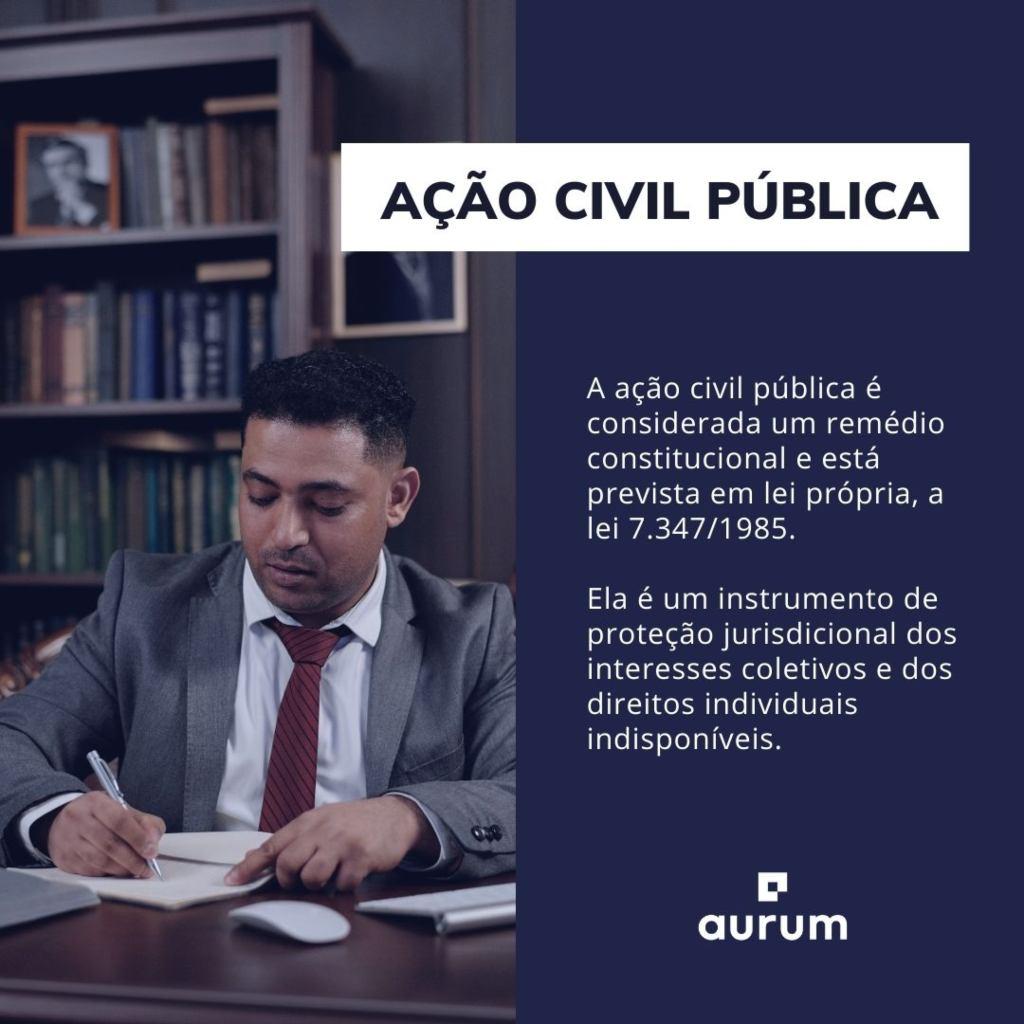 Entenda o que é ação civil pública
