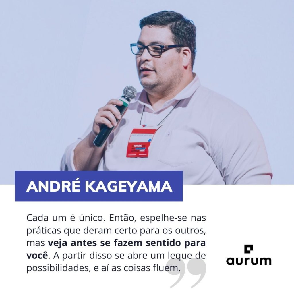 Frase de destaque André Kageyama