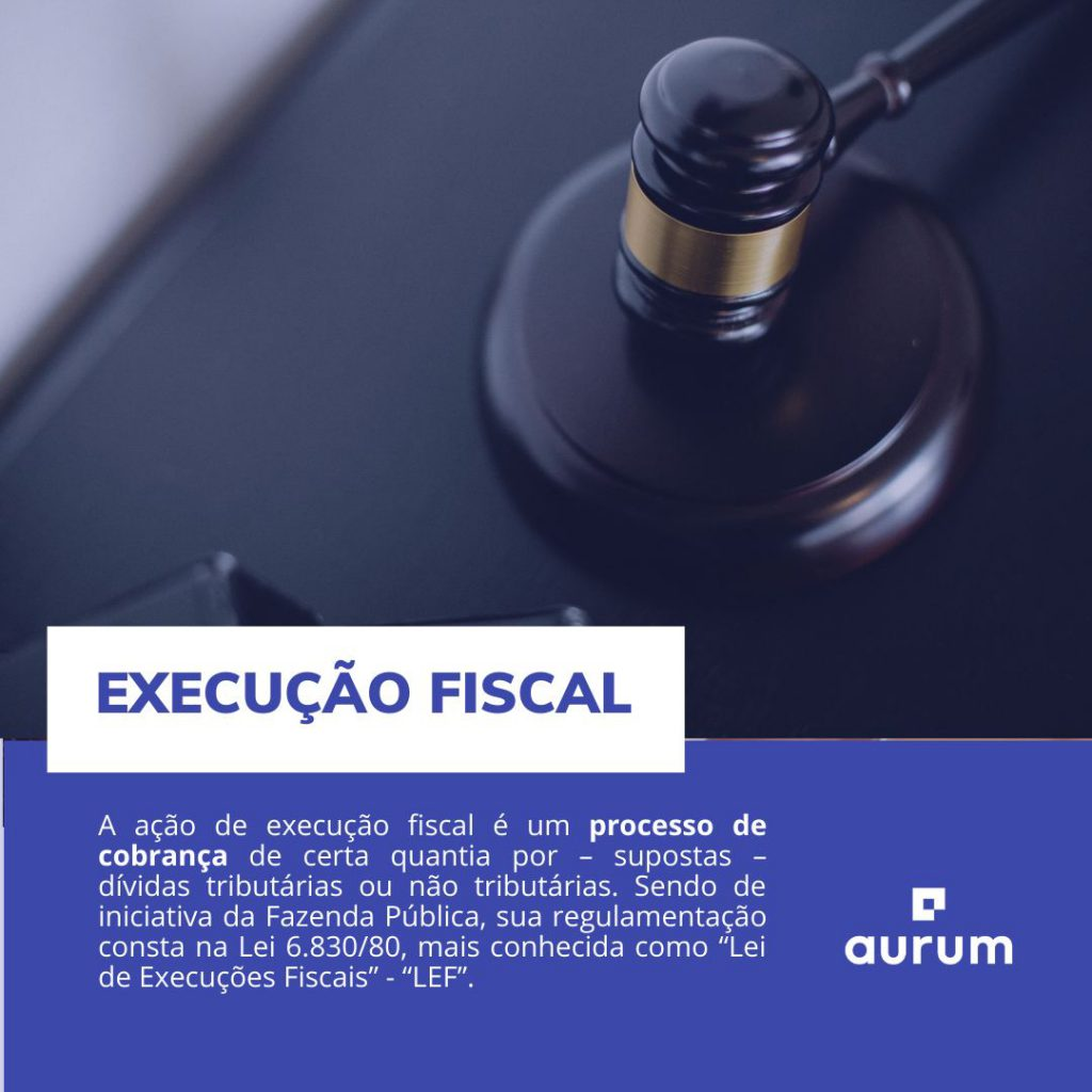 o que é execução fiscal