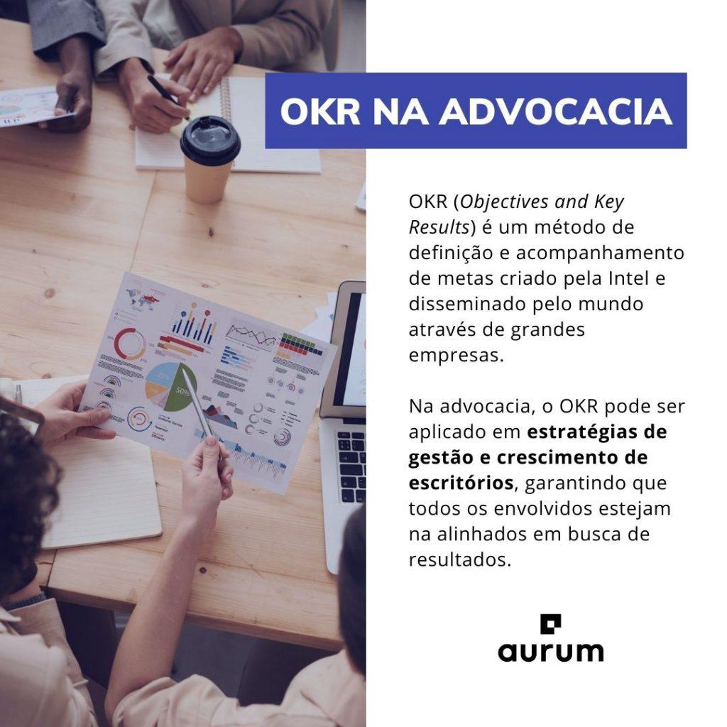 Entenda o que é OKR e como aplicá-lo na advocacia.