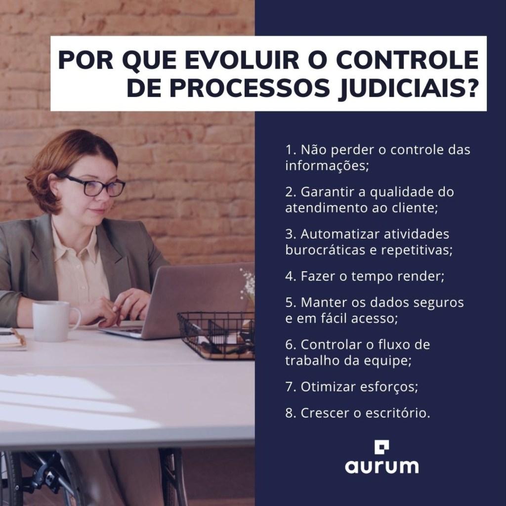 8 motivos para evoluir o controle de processos judiciais